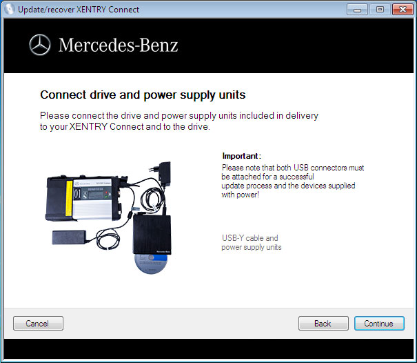How to recover mb sd c4 xentry official blog for Mercedes benz sd connect manual