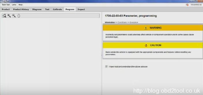 Experience VOCOM Tech Tool PTT 2 04 change speed limit on