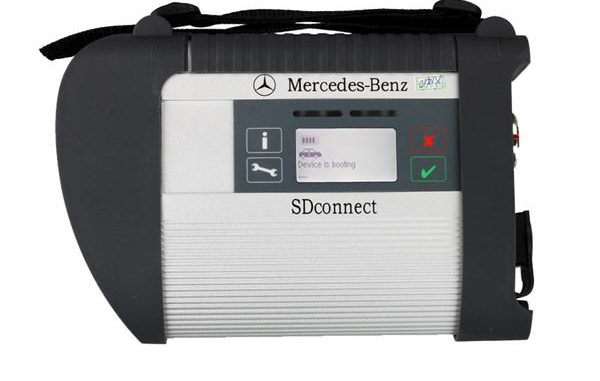 MB SD C4 SD Connect C4 with WIFI for Cars&Trucks Support WIN7 System Diagnose till 2017 Year