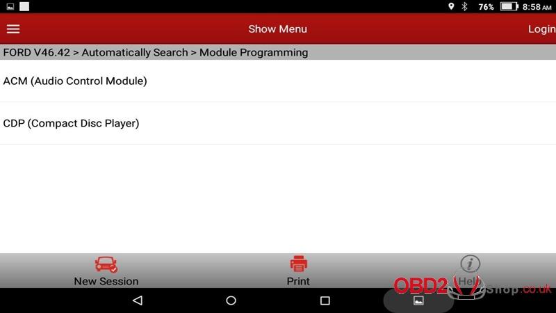 x431 v 8inch ford module Programming-33