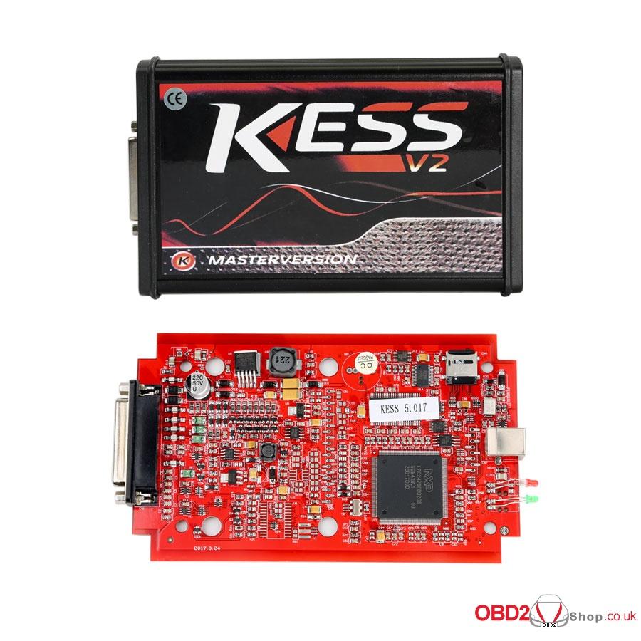 kess v5.017 master online version red pcb