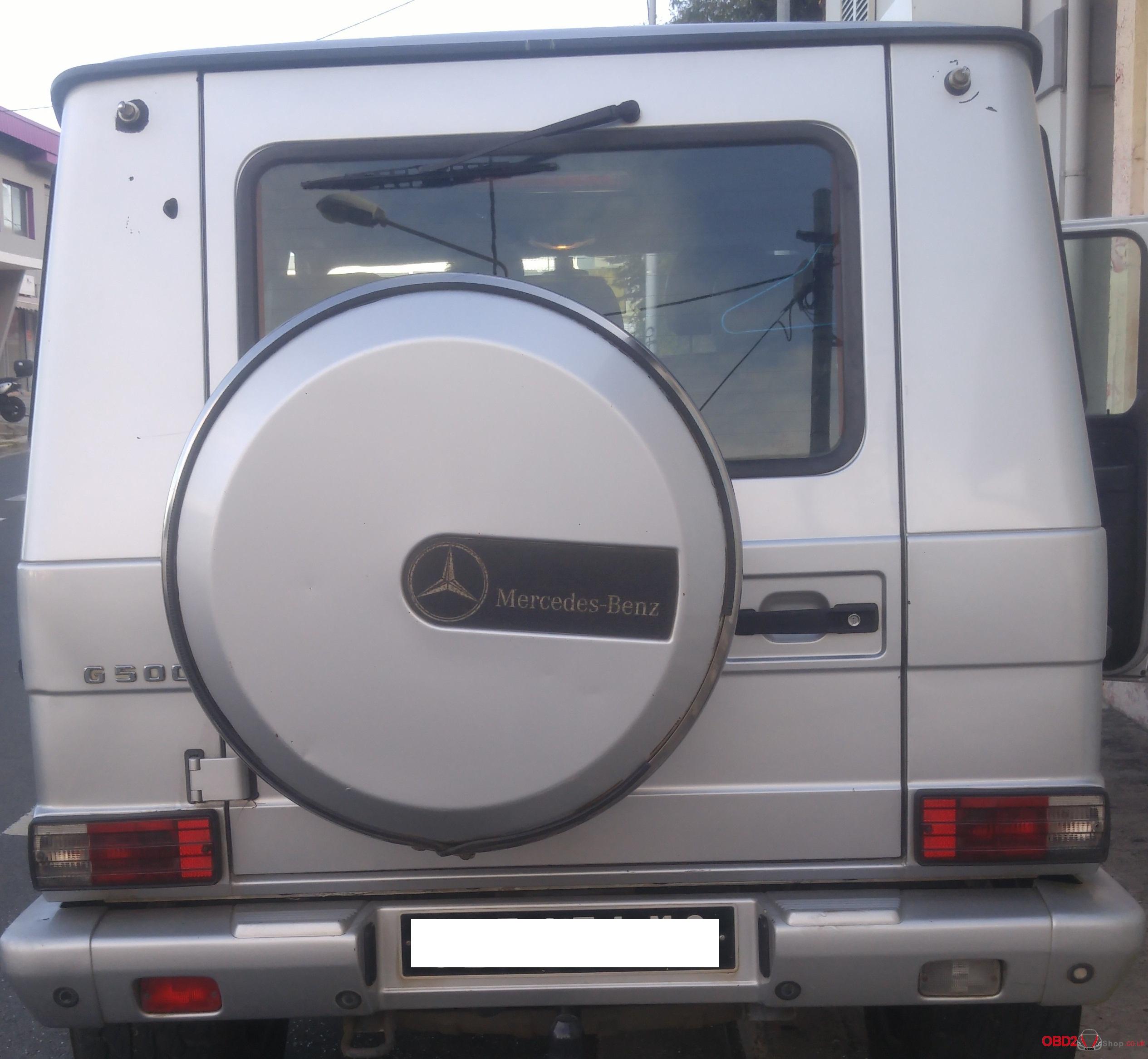 BENZ G500 year 2000-02
