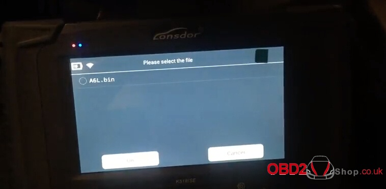 How to program Audi A6l smart key by lonsdor k518ise-10