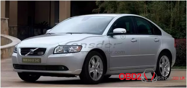 Lonsdor K518ISE to program Volvo S40 key-13