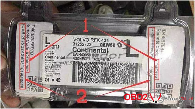 Lonsdor K518ISE to program Volvo S40 key-16