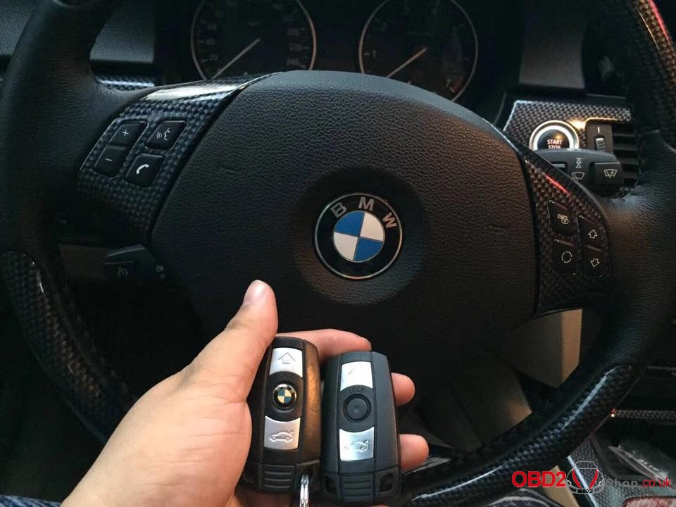 BMW M3 and 3 series matching key successfully with CGDI BMW programmer-1