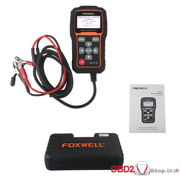 Foxwell BT705 BT-705