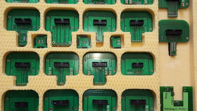 Full set BDM probe adapters for Denso Marelli Bosch Siemens using tips