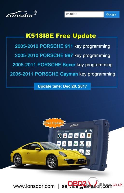 londor k518ise update
