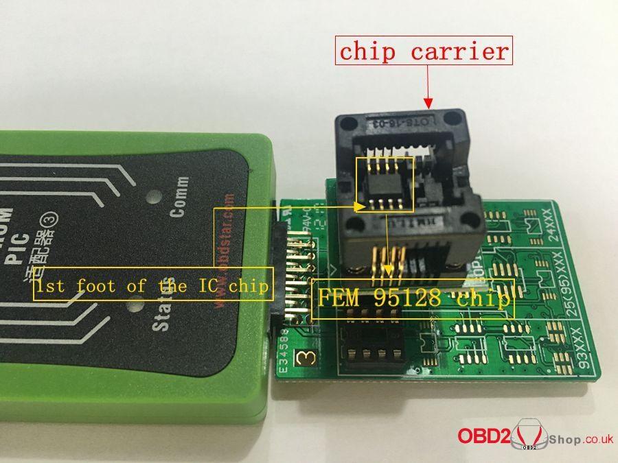 How to use OBDSTAR X300 DP Key Master DP Program BMW FEMBDC Smart Key-21