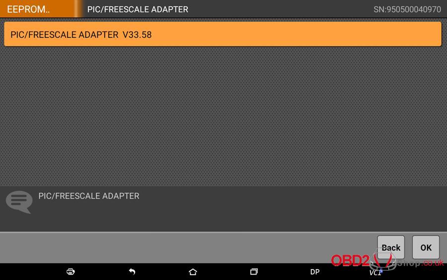How to use OBDSTAR X300 DP Key Master DP Program BMW FEMBDC Smart Key-24