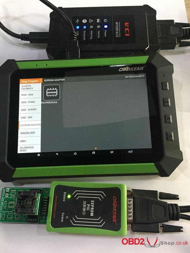 How to use OBDSTAR X300 DP Key Master DP Program BMW FEMBDC Smart Key-39