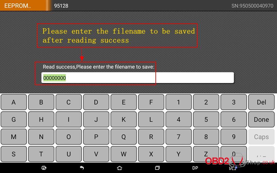 How to use OBDSTAR X300 DP Key Master DP Program BMW FEMBDC Smart Key-47