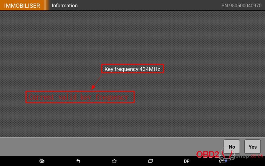 How to use OBDSTAR X300 DP Key Master DP Program BMW FEMBDC Smart Key-68
