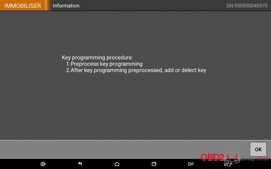 How to use OBDSTAR X300 DP Key Master DP Program BMW FEMBDC Smart Key-7