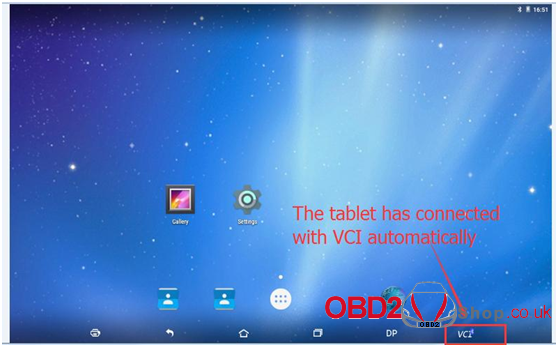 OBDSTAR X300 DP Pad Tablet Register guide-2