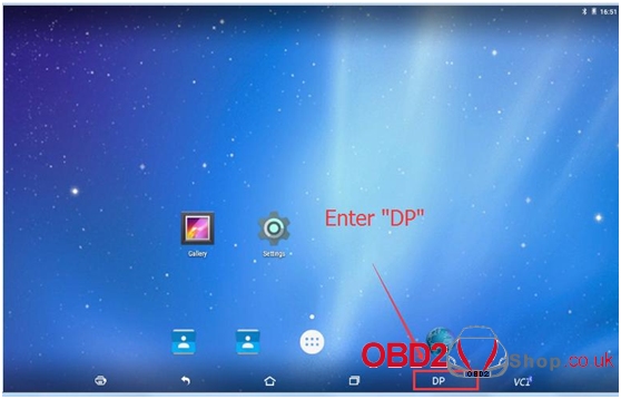 OBDSTAR X300 DP Pad Tablet Register guide-7