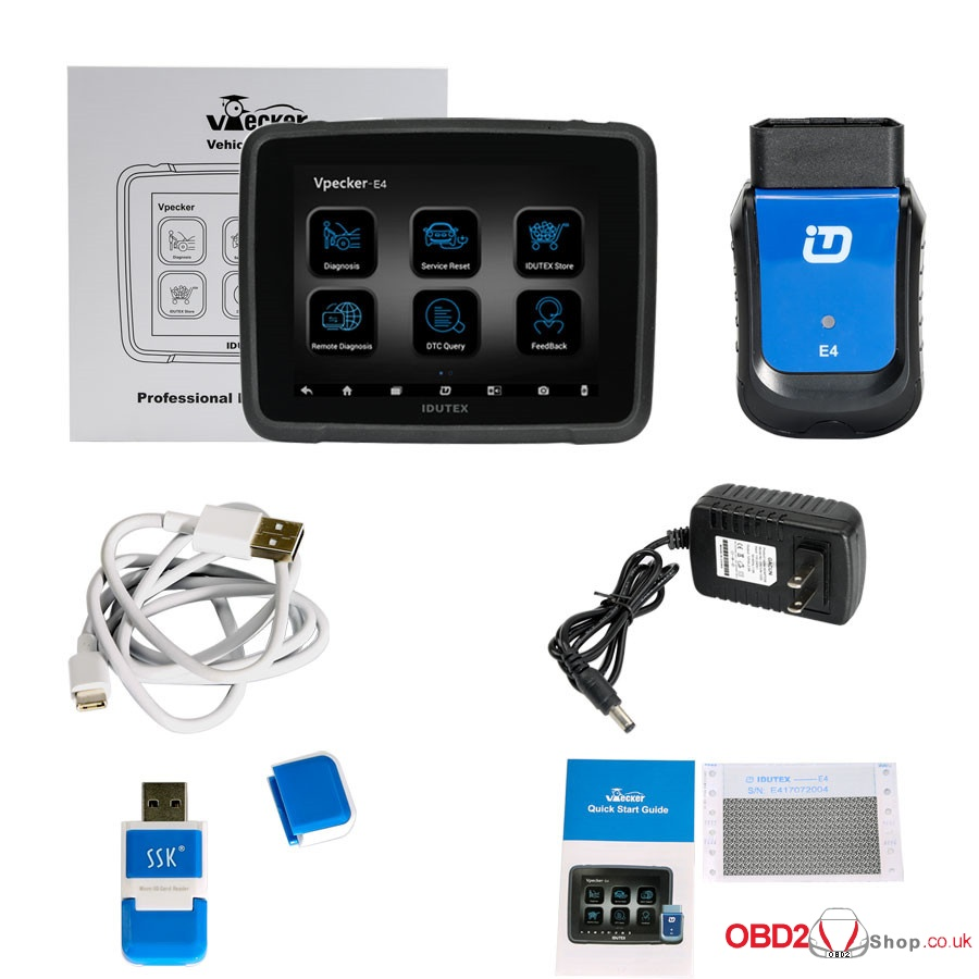 VPECKER E4 Tablet Diagnostic Tool