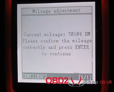How to change 2008 Volvo S80 mileage with OBDSTAR X300M-8
