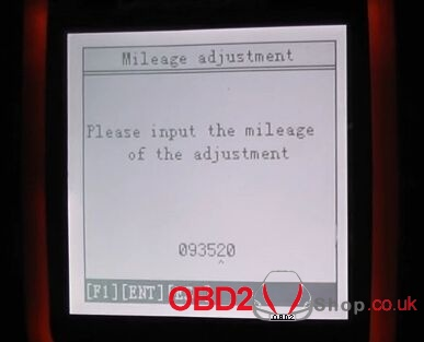 How to change 2008 Volvo S80 mileage with OBDSTAR X300M-9