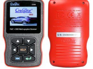 Creator C508 OBDII/EOBD Multi-System Scanner
