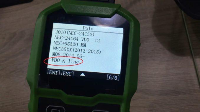 obdstar-h110-on-2006-vw-polo-vdo-k-line-odometer-reset-10