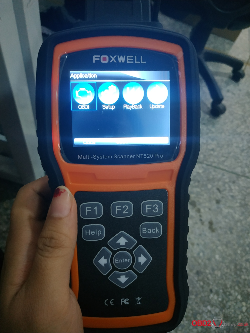 Foxwell NT520 Pro full system scanner compares with Foxwell