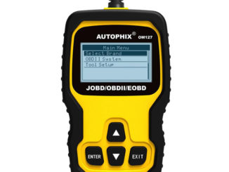 AUTOPHIX OM127 Hand-heldJOBD/OBDII/EOBD Universal Scanner Compatible with Japan Cars