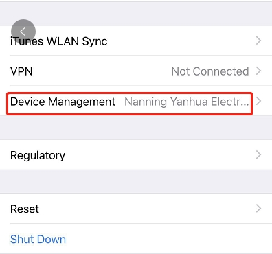 Yanhua Mini ACDP IOS APP Installation Guide-5