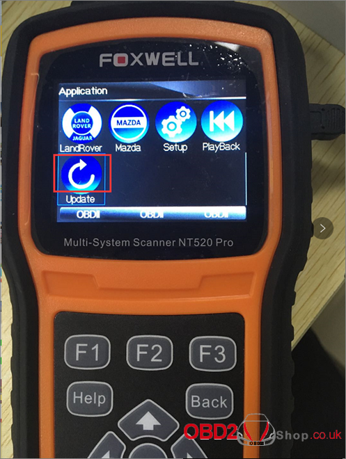 How to update Foxwell NT520-1