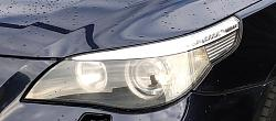 headlight closeup