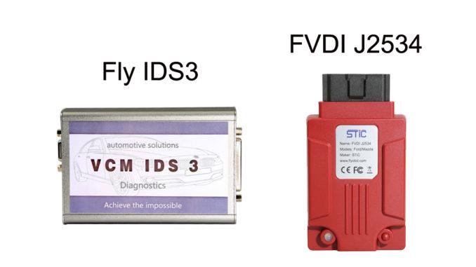 Fly IDS3 vs FVDI J2534
