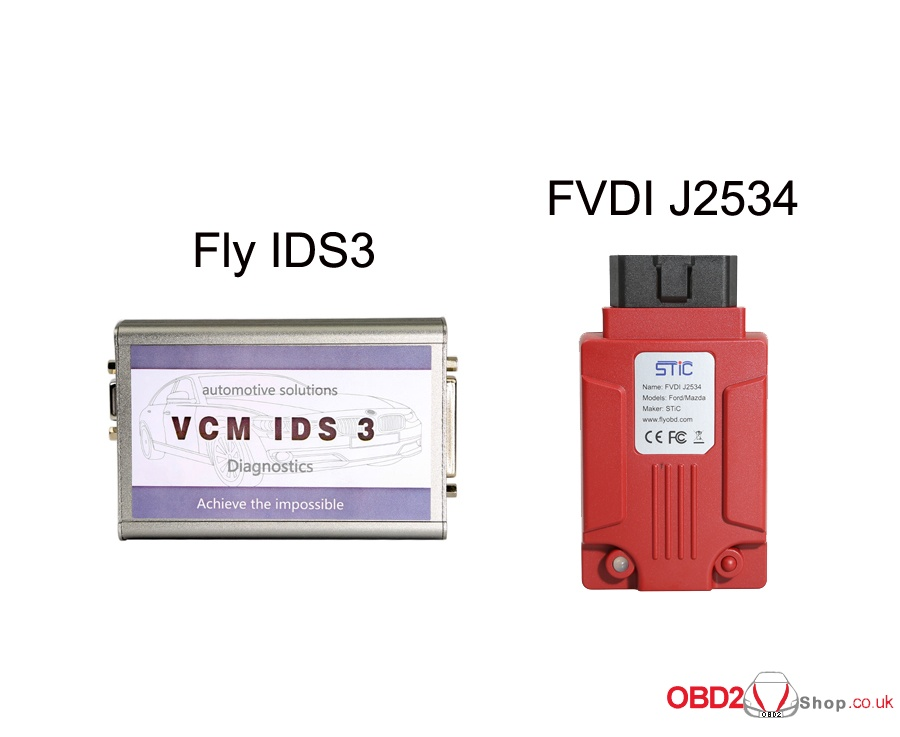 Fly IDS3 vs FVDI J2534