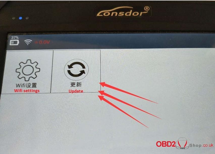 lonsdor-k518ise-update-error-14