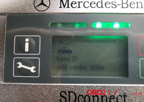 sd connect c4 doesn't diagnose FUSO CANTER, which one works