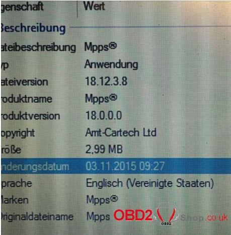 Opel ecu read write with mpps v18-02