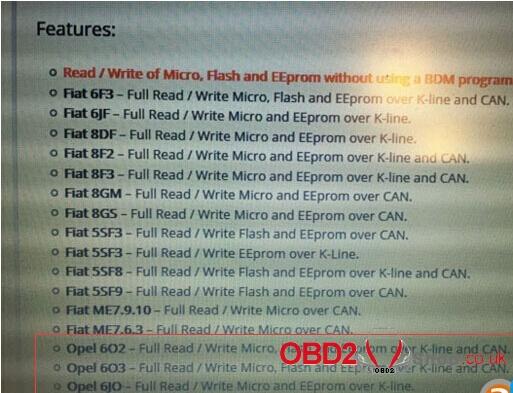 Opel ecu read write with mpps v18-03