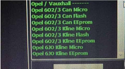 Opel ecu read write with mpps v18-04