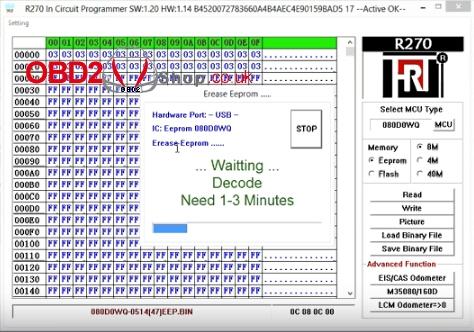 r270-bdm-programmer-erase-m35080-08