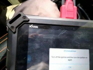 xtool pad2 VW Crossfox 2010 3G key programming-01