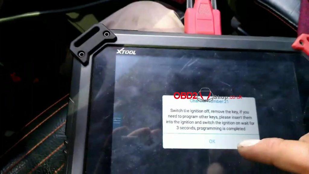 xtool pad2 VW Crossfox 2010 3G key programming-05