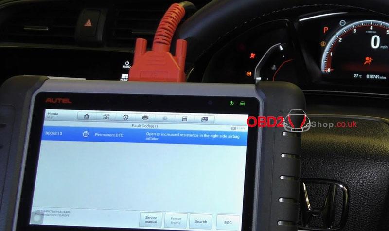 honda-civic-airbag-warning-light-reset-by-autel-mk808 (10)