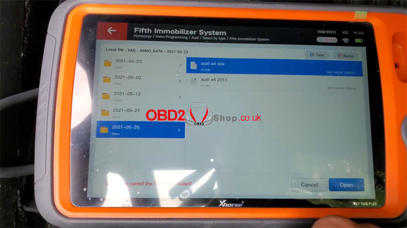 xhorse-vvdi-key-tool-plus-program-2011-audi-a4-all-key-lost-(8)