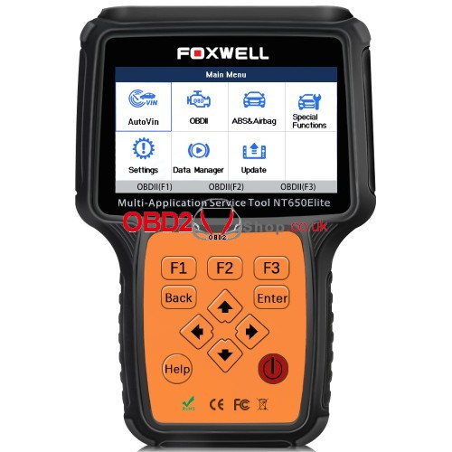 Foxwell NT650Elite