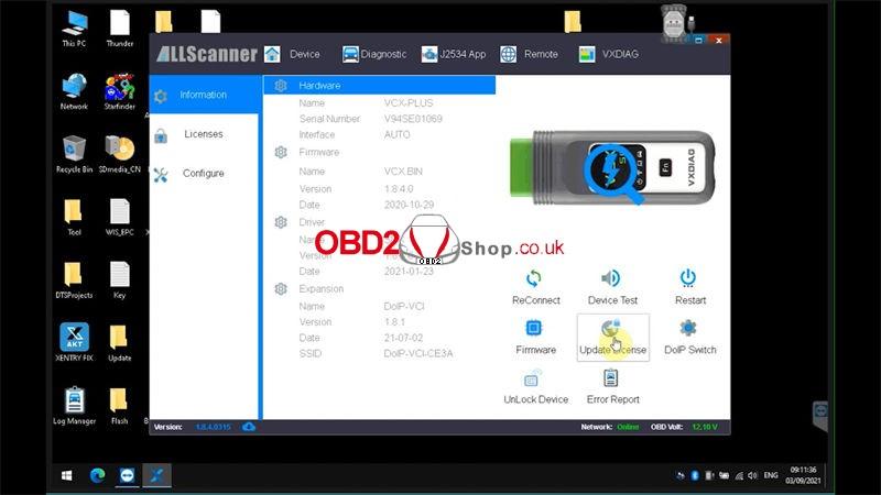 update-vxdiag-vcx-se-firmware-license 07